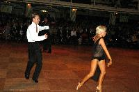 Alex Ivanets & Lisa Bellinger-Ivanets at Blackpool Dance Festival 2004
