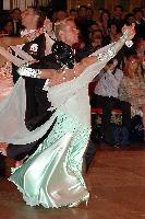 Andrea Zaramella & Letizia Ingrosso at Blackpool Dance Festival 2004