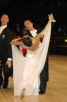Andrea Zaramella & Letizia Ingrosso at International Championships 2005