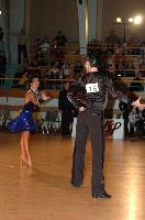 Sarunas Greblikas & Viktoria Horeva at Latvia Open 2007