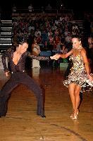 Sergey Sourkov & Agnieszka Melnicka at Crystal Palace Cup 2004