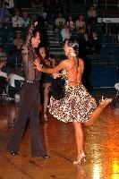 Sergey Sourkov & Agnieszka Melnicka at Crystal Palace Cup 2004