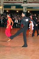 Sergey Sourkov & Agnieszka Melnicka at Blackpool Dance Festival 2004