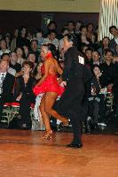 Sergey Sourkov &amp; Agnieszka Melnicka at Blackpool Dance Festival 2004