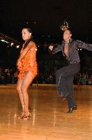 Sergey Sourkov & Agnieszka Melnicka at Dutch Open 2007