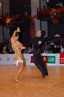 Sergey Sourkov & Agnieszka Melnicka at World Masters 2007