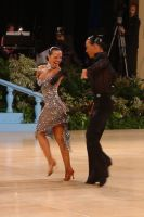 Sergey Sourkov & Agnieszka Melnicka at UK Open 2004