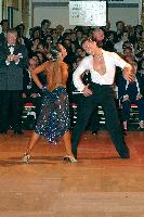 Evgeni Smagin & Rachael Heron at Blackpool Dance Festival 2004