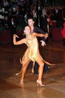 Evgeni Smagin & Rachael Heron at The International Championships