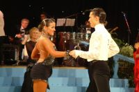 Evgeni Smagin &amp; Rachael Heron at UK Open 2004