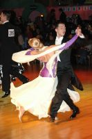 Oscar Pedrinelli &amp; Kamila Brozovska at Dutch Open 2005