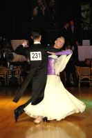 Oscar Pedrinelli & Kamila Brozovska at Dutch Open 2005