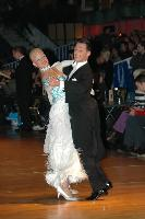 Oscar Pedrinelli & Kamila Brozovska at Dutch Open 2007