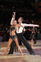 James Jordan &amp; Aleksandra Grabowska at The International Championships