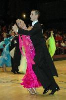 Mark Elsbury & Olga Elsbury at The International Championships
