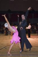 David Byrnes & Karla Gerbes at The International Championships