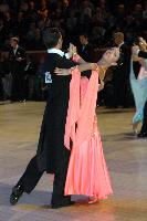 Federico Di Toro & Genny Favero at The International Championships
