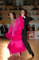 Federico Di Toro & Genny Favero at Latvia Open 2007