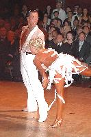 Michal Malitowski & Joanna Leunis at Blackpool Dance Festival 2004