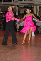 Alex Hou & Melody Hou at Blackpool Dance Festival 2004