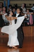 Alex Hou & Melody Hou at English Open Championships