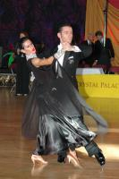 Michael Glikman & Milana Deitch at Crystal Palace Cup 2005