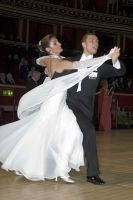Luca Rossignoli & Veronika Haller at International Championships 2005