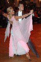 Alexandre Chalkevitch & Larissa Kerbel at Blackpool Dance Festival 2004