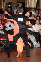 Grant Barratt-thompson & Mary Paterson at Blackpool Dance Festival 2004