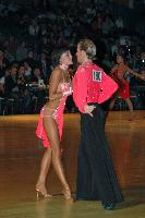Stefano Moriondo & Malene Ostergaard at Dutch Open 2007