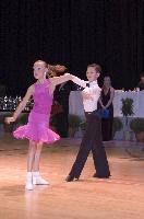 Luke Miller & Hanna Cresswell at The International Championships