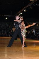 Evgeni Smagin & Polina Kazatchenko at Dutch Open 2007