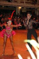 Darren Bennett & Lilia Kopylova at Blackpool Dance Festival 2004