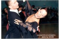Andrzej Sadecki &amp; Karina Nawrot at Eurodance Festival - Szczecin 2003