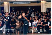 Sergey Sourkov & Agnieszka Melnicka at Blackpool Dance Festival 2003