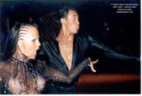 Sergey Sourkov & Agnieszka Melnicka at X Polish Open 2003