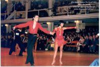 Stefano Di Filippo & Annalisa Di Filippo at Blackpool Dance Festival 2003