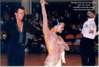 James Jordan & Aleksandra Jordan at Blackpool Dance Festival 2003