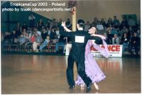 Mark Elsbury & Olga Elsbury at Tropicana Cup 2003
