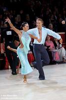 Neil Jones & Ekaterina Jones at International Championships 2008