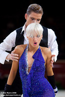 Jurij Batagelj & Jagoda Batagelj at International Championships 2008
