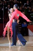 Franco Formica & Oxana Lebedew at International Championships 2008