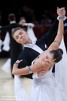 Sergei Konovaltsev & Olga Konovaltseva at International Championships 2008