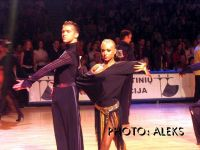 Andrei Kiselev & Elena Arsentieva at Amber Couple 2004