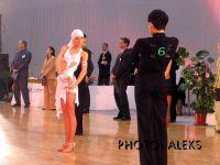Stanislavs Tarasovs & Zane Lase at Deju Virpuli 2004
