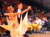 Anatolijs Bengards & Lasma Vilkausa at Deju Virpuli 2004