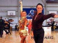 Vitalijs Polikarpovs & Agita Baranovska at Deju Virpuli 2004