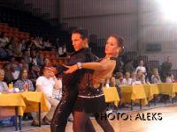Sandris Cirulis & Kristine Jaunzeme at Deju Virpuli 2004