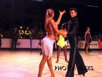 Toms Birkavs & Lidija Hlinova at Amber Couple 2004