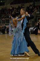 Domen Krapez & Monica Nigro at WDC European Professional Standard Championship 2006